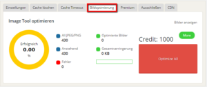 WordPress Bilder optimieren mit WP Fastest Cache