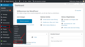 WordPress Theme Editor - Google Analytics direkt einbinden.